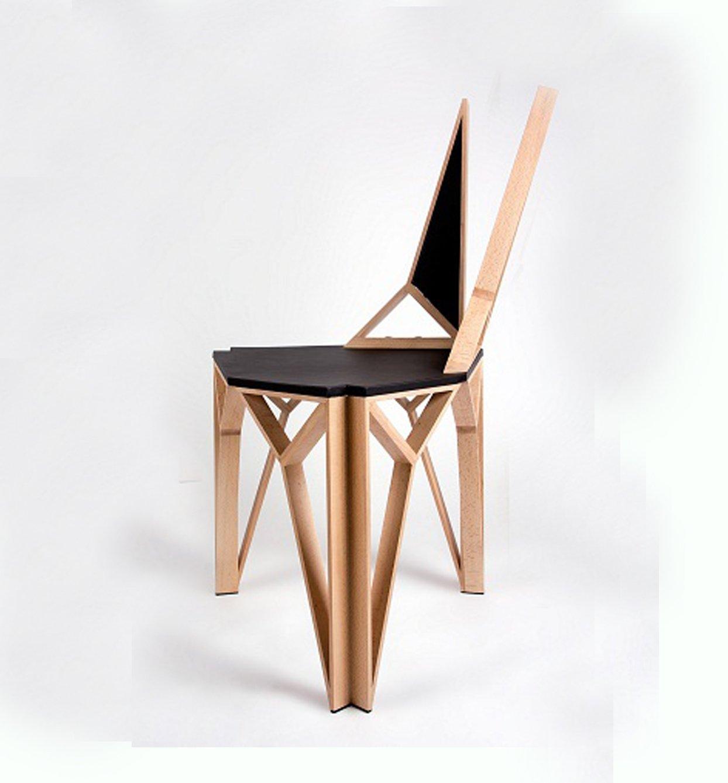 Silla moderna 03 decoraci n con madera - Sillas modernas madera ...