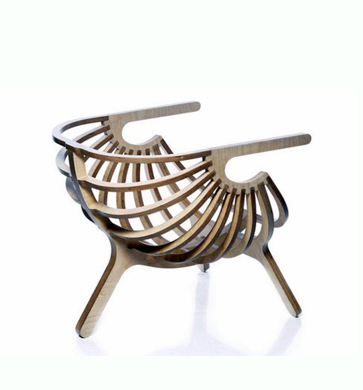 Silla moderna 02 decoraci n con madera for Sillas modernas 2016