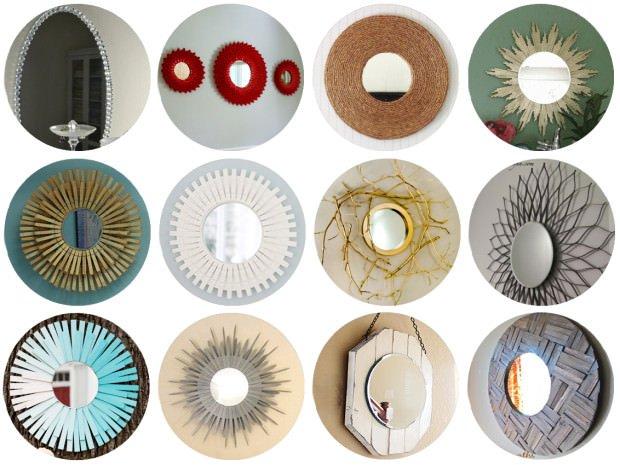 Espejos decorativos con marcos originales decoraci n - Espejos decorativos originales ...