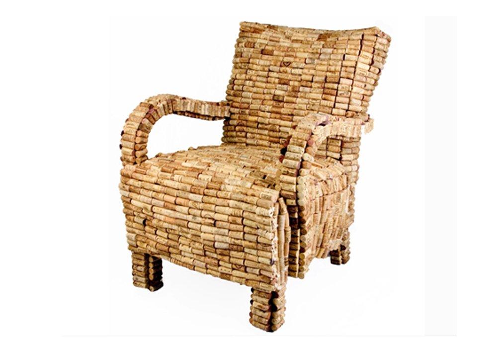 Muebles con tapones de corcho decoraci n con madera - Muebles de corcho ...