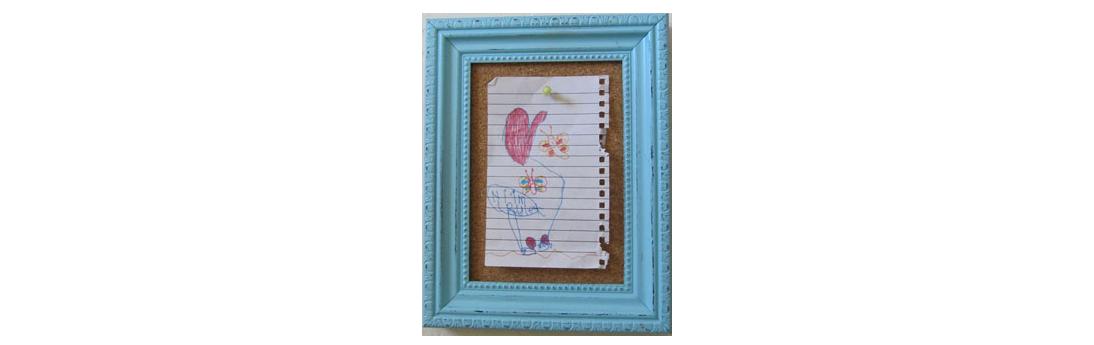 Marcos para fotos y corcho decoraci n con madera - Decoracion de marcos de fotos ...