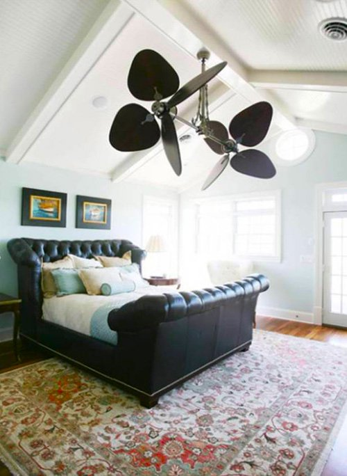 Ventilador de techo aire natural decoraci n con madera - Instalacion de ventilador de techo ...