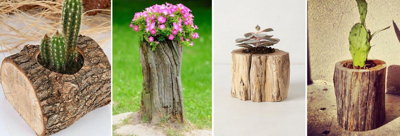 Decora tu jard n con reciclaje de madera decoraci n for Reciclaje para jardin