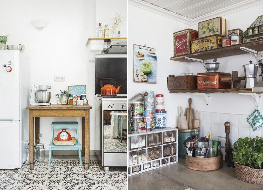 Decora tu cocina al estilo vintage decoraci n con madera for Cocinas antiguas
