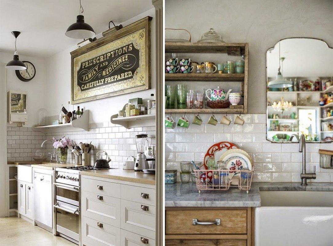 Decora Tu Cocina Al Estilo Vintage Decoraci N Con Madera # Muebles Efecto Vintage