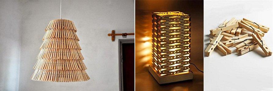 Ideas para decorar con pinzas de madera decoraci n con for Imagenes de reciclaje de madera