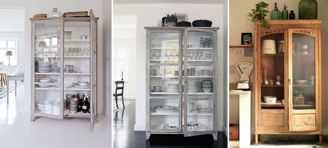 Alacenas antiguas de cocina affordable el piso de madera - Alacenas de cocina antiguas ...