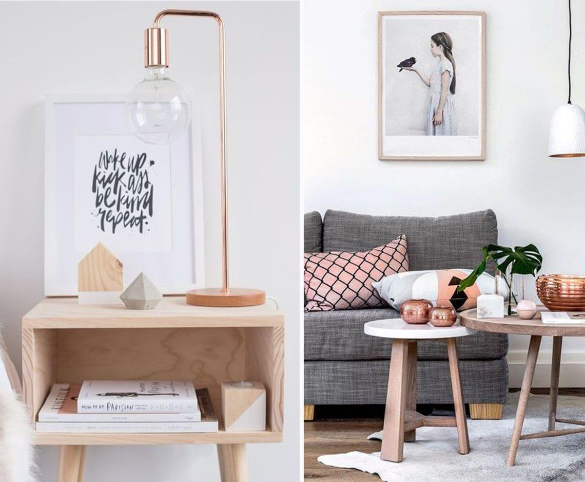 decoracion cobre y madera - Lo Ultimo En Decoracion