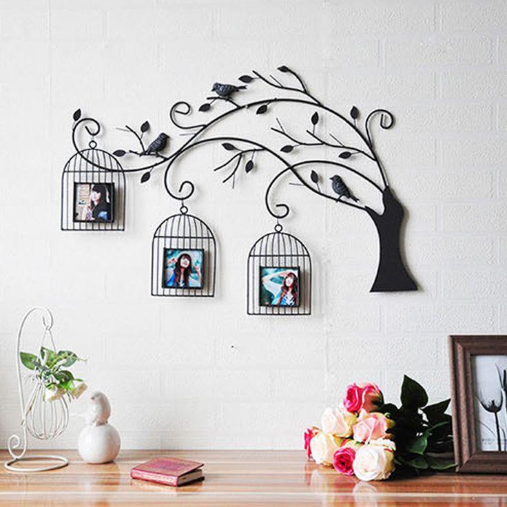 jaulas-pared-familia – Decoración con Madera